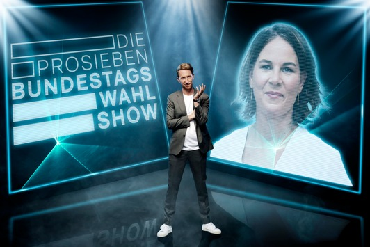"""Politik zur Prime Time auf ProSieben: Annalena Baerbock trifft in """"Die ProSieben-Bundestagswahl-Show"""" am Mittwoch auf Louis Klamroth"""