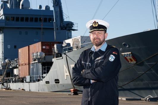 Unterstützungsgeschwader der Deutschen Marine bekommt neuen Kommandeur