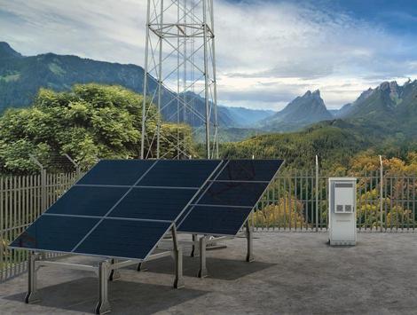 Solarstrom für Mobilfunknetz