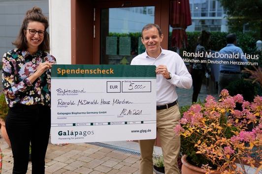 """""""Team Galapagos"""" radelt für die McDonald's Kinderhilfe Stiftung / 1.000 Kilometer und 5.000 Euro als Beitrag zum SOLOCharity Ride"""