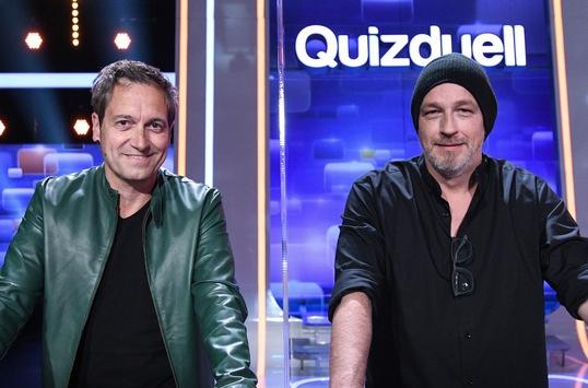 """Das Erste / Dieter Nuhr und Torsten Sträter gegen den """"Quizduell-Olymp"""" – Satire-Stars bei Jörg Pilawa am Freitag, 22. Januar 2021, 18:50 Uhr im Ersten"""