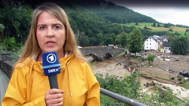 SWR vor Ort im Hochwasser-Katastrophengebiet