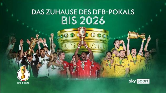 Sky bleibt das Zuhause des DFB-Pokals: alle Spiele, die exklusive Original Sky Konferenz und alle Sensationen bis 2026 live nur bei Sky