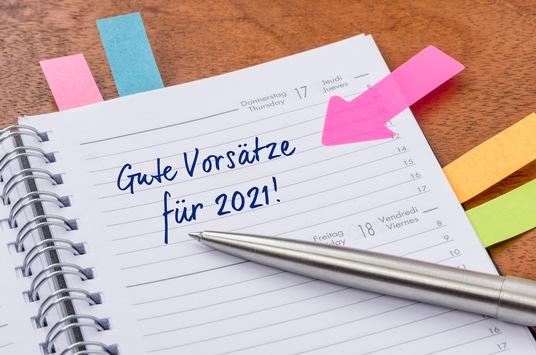 Neues Jahr, neues Glück: Das sind die Neujahrsvorsätze der Deutschen für 2021