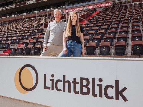 LichtBlick und der FC St. Pauli bauen Partnerschaft aus / Gemeinsam für gutes Kiezklima