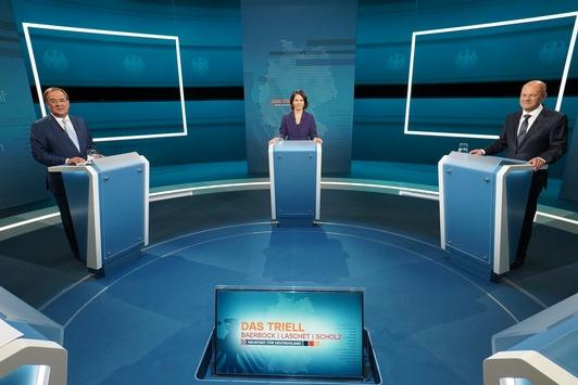 Das erste Wahl-Triell der deutschen TV-Geschichte live bei RTL und ntv