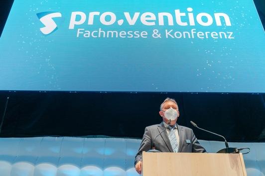 Europas erste Messe für Infektionsschutz pro.vention erfolgreich zu Ende gegangen