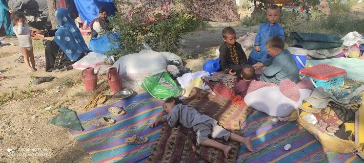 Hilferuf aus Afghanistan / Knapp eine Viertelmillion neu Vertriebene brauchen dringend humanitäre Hilfe