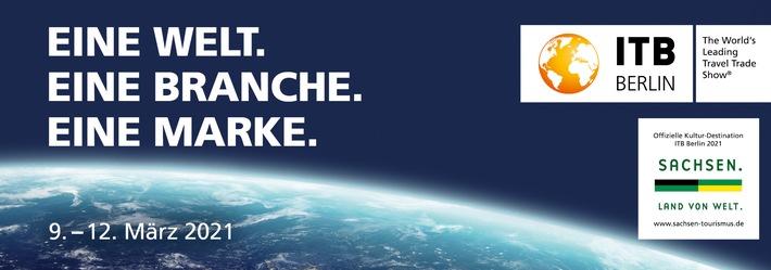 ITB Berlin 2021 findet rein digital statt: Weltweit führende Reisemesse bietet der Branche zentrale Online-Plattform für Vernetzung, Business und Content vom 9. bis 12. März