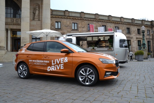 Bundesweite LIVE & DRiVE-Roadshow: Deutschland fährt ŠKODA