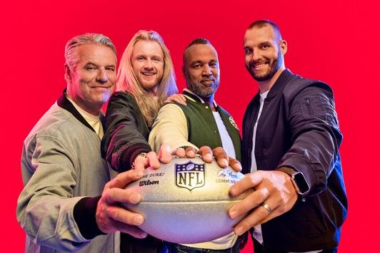 Premiere. Die NFL startet zum ersten Mal auf ProSieben in der Prime Time in die neue Saison / Neun Stunden Football live
