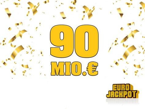 90 Millionen Euro / Mega-Jackpot in Nordrhein-Westfalen geknackt