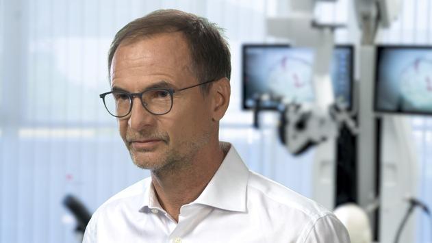 Nominiert zum Deutschen Zukunftspreis 2020 / Team 2 kombiniert Visualisierung und Robotik und verbessert damit Heilungschancen