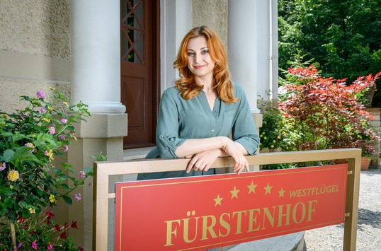 """Das Erste: """"Sturm der Liebe"""": Überraschungsbesuch am """"Fürstenhof"""""""