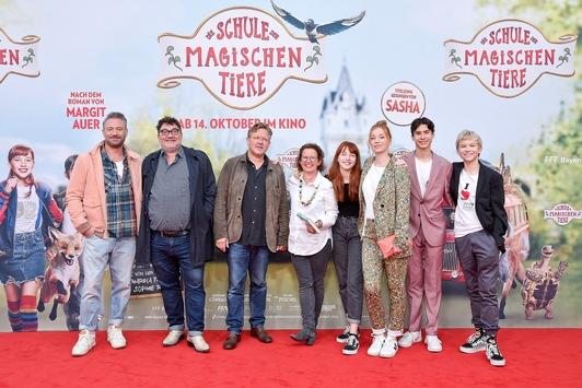 DIE SCHULE DER MAGISCHEN TIERE: Die magischen Tiere begeistern das Münchner Premierenpublikum und 60.000 Previewbesucher