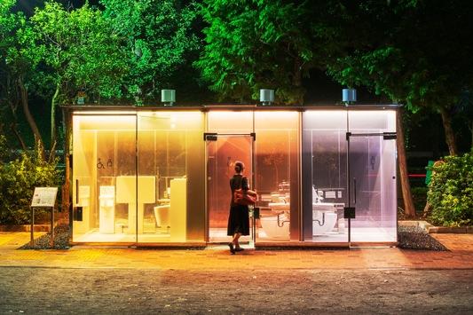 The Tokyo Toilet / Weltbekannte Architekten gestalten öffentliche Toiletten / Das Projekt ist eine Kooperation zwischen der Nippon Foundation und der Stadt Tokio / Eine Schlüsselrolle übernimmt TOTO