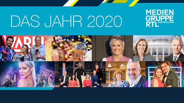 Mediengruppe RTL steigert 2020 Relevanz sowie Reichweiten von TVNOW und journalistischen Inhalten