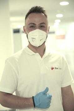 Gesundheitsdienstleister EcoCare hat mit seinem Hygiene- und Infektionsschutzkonzept zum reibungslosen Ablauf der IAA Mobility beigetragen