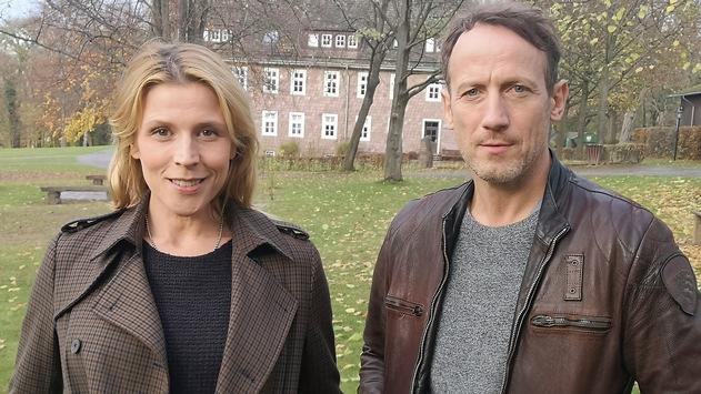 """Drehstart für den """"Tatort: Tyrannenmord"""" (AT) mit Wotan Wilke Möhring und Franziska Weisz"""
