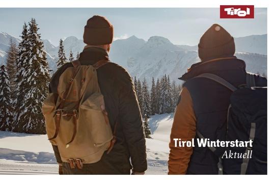 Tirol Winterstart Aktuell: Einladung zum digitalen Pressegespräch