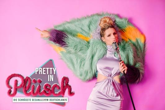 """Die schrägste Gesangsshow Deutschlands: DJ Bobo kommt zur Weltpremiere von """"Pretty in Plüsch"""" am Freitag in SAT.1"""