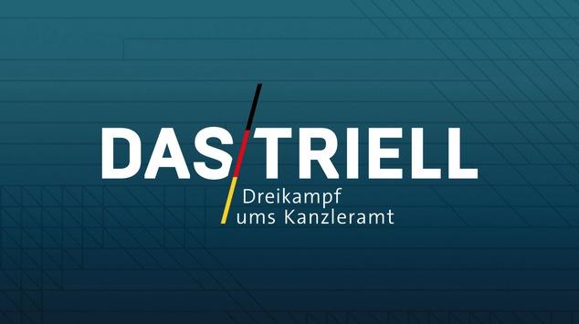 """Das Triell – Dreikampf ums Kanzleramt"": Akkreditierung gestartet"