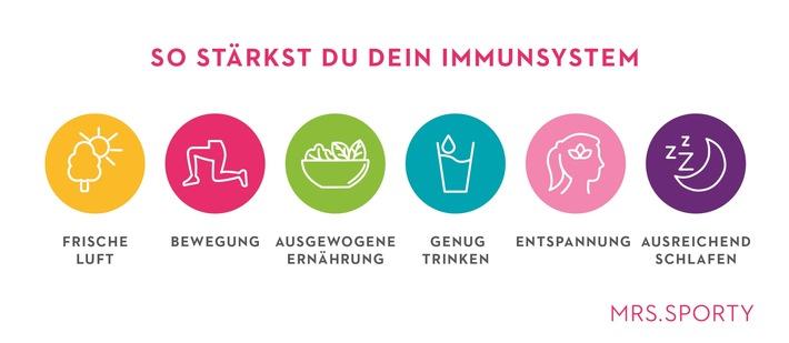 #FitfürdenHerbst-Aktion: Mrs.Sporty stärkt gezielt Immunsystem der Mitglieder
