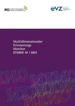 Vorstellung von MEMO Deutschland – Multidimensionaler Erinnerungsmonitor 2021 / Einladung zum Online-Pressegespräch 05. Mai 2021