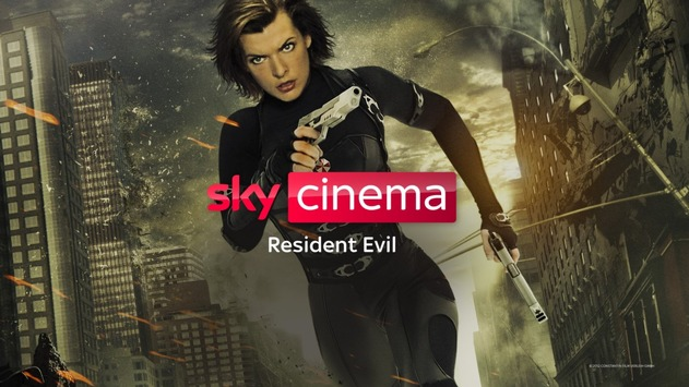 """Milla Jovovich als Action-Amazone: Die komplette """"Resident Evil""""-Realfilm-Reihe und die drei Animations-Hits auf Sky und Sky Ticket"""