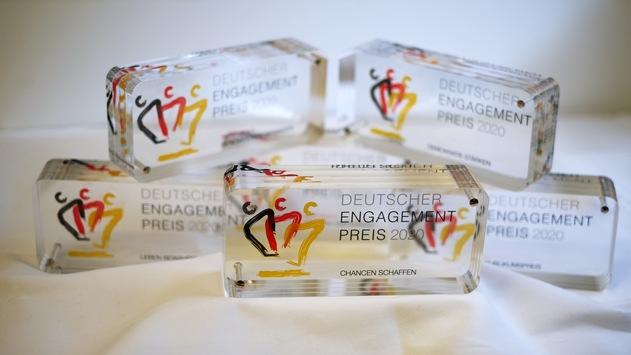 Verleihung Deutscher Engagementpreis 2020