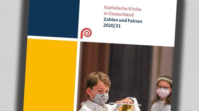 """Arbeitshilfe """"Katholische Kirche in Deutschland – Zahlen und Fakten 2020/21"""" veröffentlicht"""