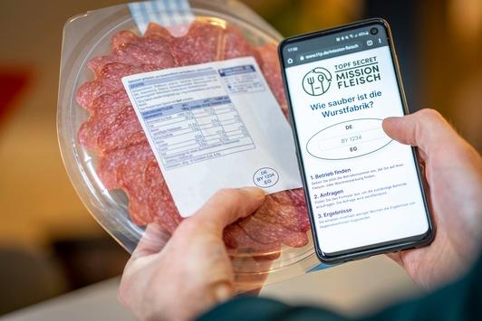 Mehr Transparenz bei Fleisch-Kontrollen: foodwatch und FragDenStaat starten Mitmach-Plattform gegen Geheimniskrämerei in Lebensmittelbehörden
