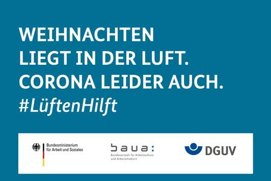 Am Arbeitsplatz, in Schulen und zu Hause: #LüftenHilft / Bundesweite Aktion zum infektionsschutzgerechten Lüften