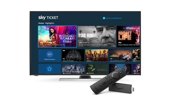 Sky Ticket in Deutschland jetzt auf Fire TV-Geräten verfügbar