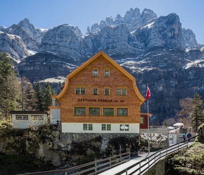 Wandern mit Alpenblick: Harte klimatische Bedingungen für Terrassen
