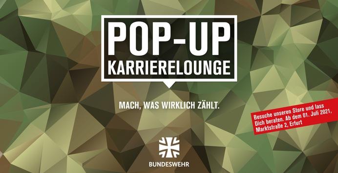Save the Date: Eröffnung Pop-Up Store der Bundeswehr in Erfurt