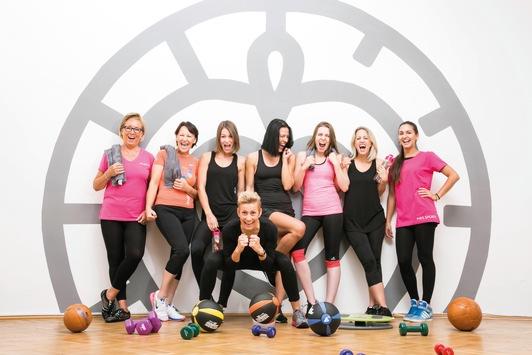 #GemeinsamFitGesund-Aktion: Mrs.Sporty macht Frauen fit nach dem Lockdown