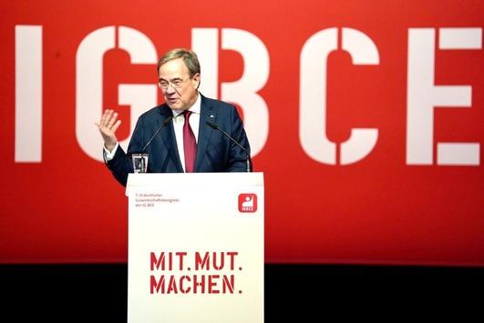 Armin Laschet auf dem IG-BCE-Kongress
