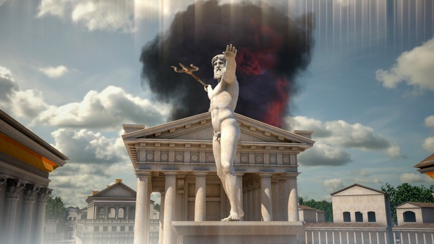 Mythos-Reihe in ZDFinfo mit neuer Doku über Atlantis