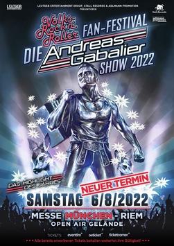 """DIE"" ANDREAS GABALIER SHOW 2022 – Konzertverschiebung"