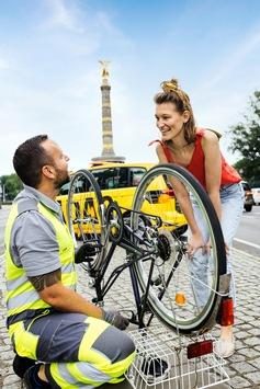 ADAC startet Pannenhilfe für Fahrräder / Gelbe Engel testen neuen Service ab sofort im Rahmen eines Pilotprojekts in Berlin und Brandenburg