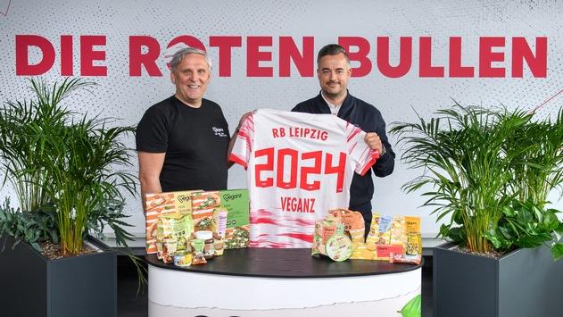 RB Leipzig kooperiert mit Veganz Group AG
