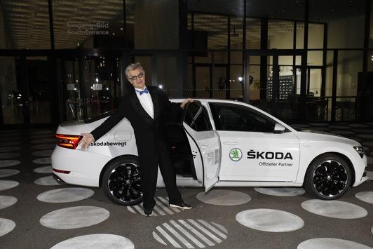 Bewegende Vorstellung: SKODA brachte die Stars zu den European Film Awards