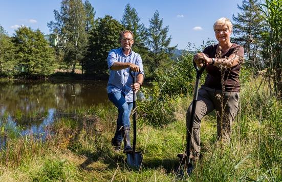 Krombacher Naturschutz-Projekt in der Heimat: Das Krombachtal