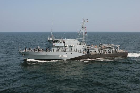 """Weihnachten zu Hause – Minenjagdboot """"Sulzbach-Rosenberg"""" zurück aus dem NATO-Einsatz"""