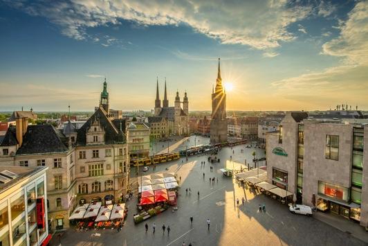Einheit feiern: Die EinheitsEXPO 2021 in Halle (Saale) stellt sich vor