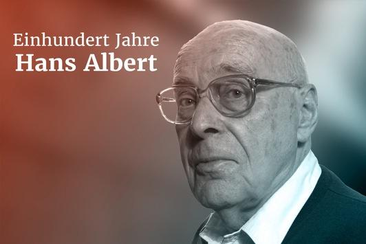 100 Jahre Hans Albert: Website und Festakt zum Geburtstag des renommierten Wissenschaftstheoretikers