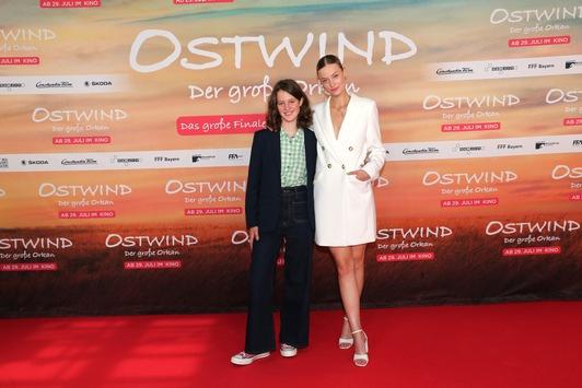 OSTWIND – DER GROSSE ORKAN begeistert das Publikum bei der Weltpremiere in München
