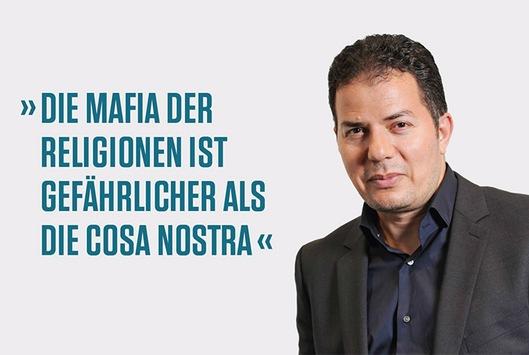 """Hamed Abdel-Samad: """"Die Mafia der Religionen ist gefährlicher als die Cosa Nostra"""""""