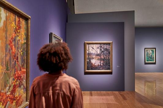 Kanadische Künstler der Group of Seven 2021 in Ausstellungen in Deutschland und den Niederlanden zu sehen / Magnetic North: Mythos Kanada in der Malerei 1910-1940